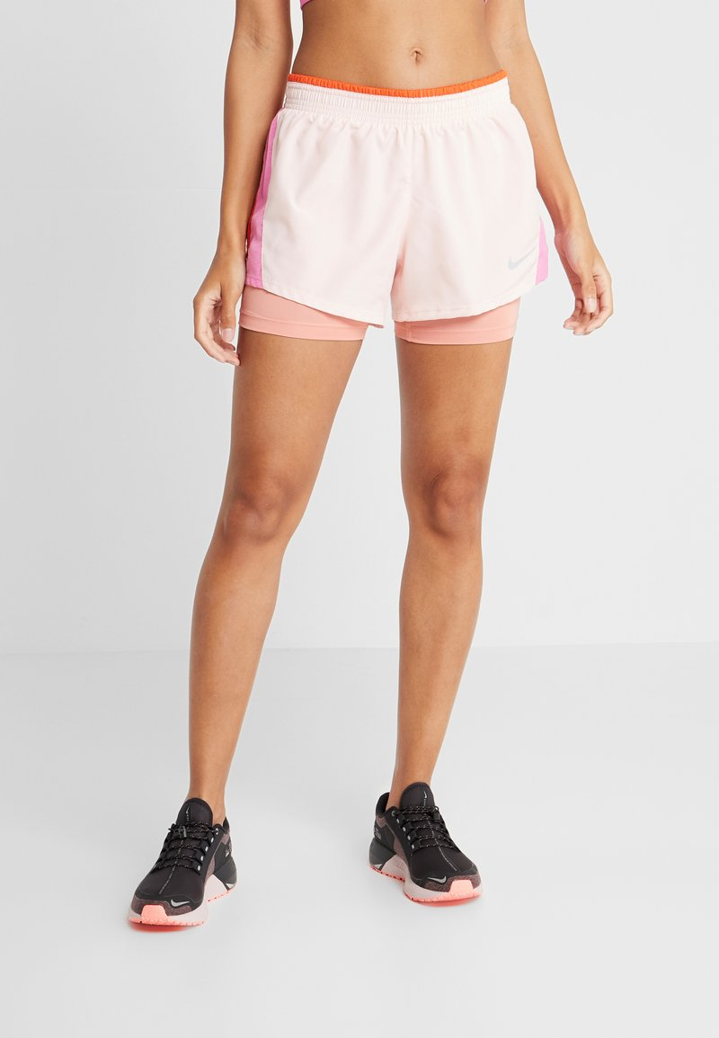 Nike Performance - 10K 2IN1 SHORT - Träningsshorts - echo pink/china rose/cosmic clay/wolf grey