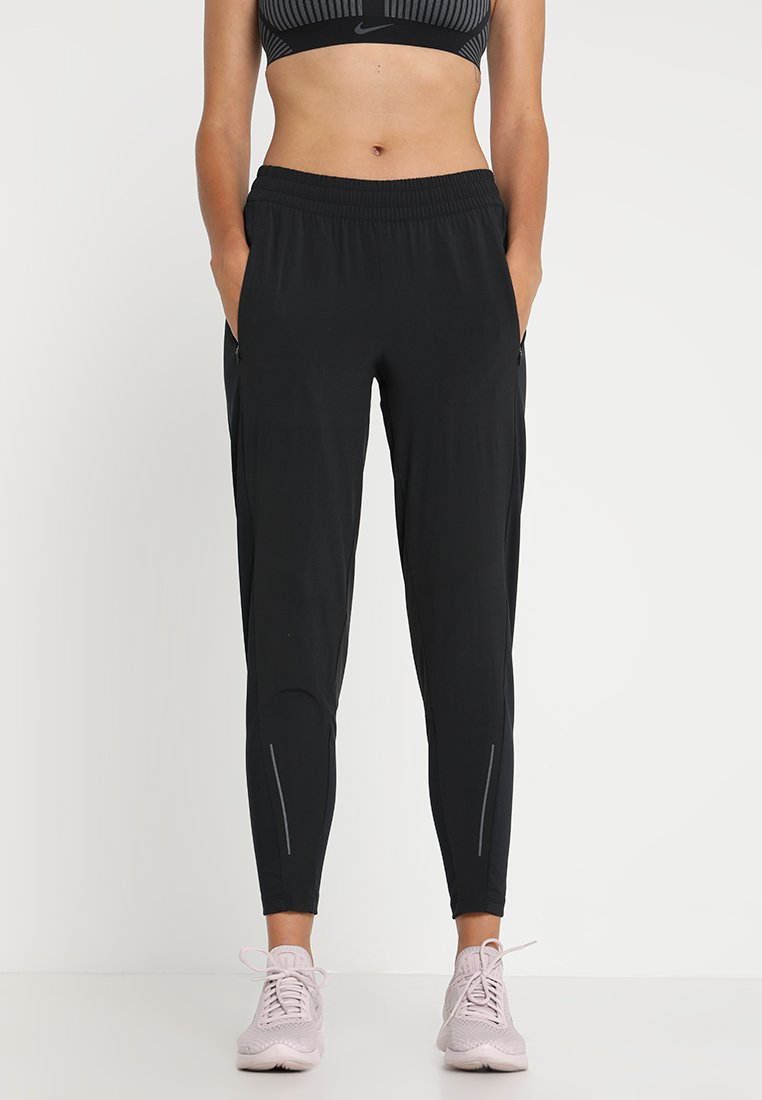 Nike Performance - RUN PANT - Spodnie treningowe - black/reflective silver