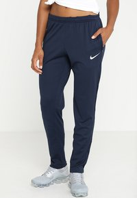Nike Performance - DRY PANT  - Tracksuit bottoms - obsidian/white - 0