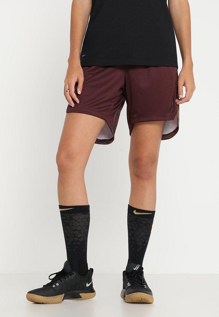 Nike Performance - ELITE SHORT - Sportovní kraťasy - burgundy crush/burgundy crush/black