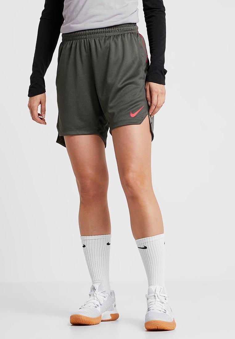 Nike Performance - ELITE SHORT - Sports shorts - cargo khaki/university red