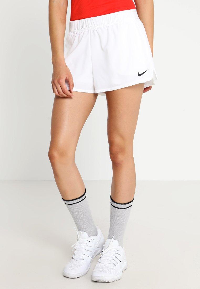 Nike Performance - FLEX SHORT - Krótkie spodenki sportowe - white/black