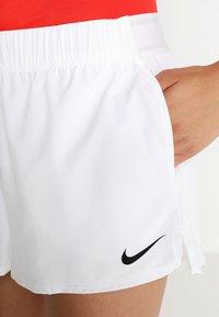 Nike Performance - FLEX SHORT - Krótkie spodenki sportowe - white/black - 3
