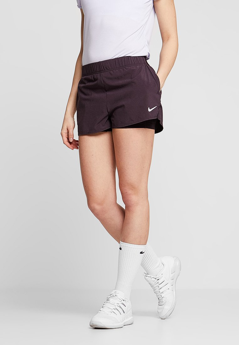 Nike Performance - FLEX SHORT 2-IN-1 - Sportovní kraťasy - burgundy ash/0oxygen purple