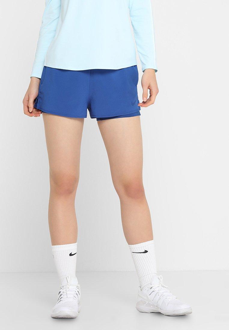 Nike Performance - FLEX SHORT 2-IN-1 - kurze Sporthose - indigo force/topaz mist