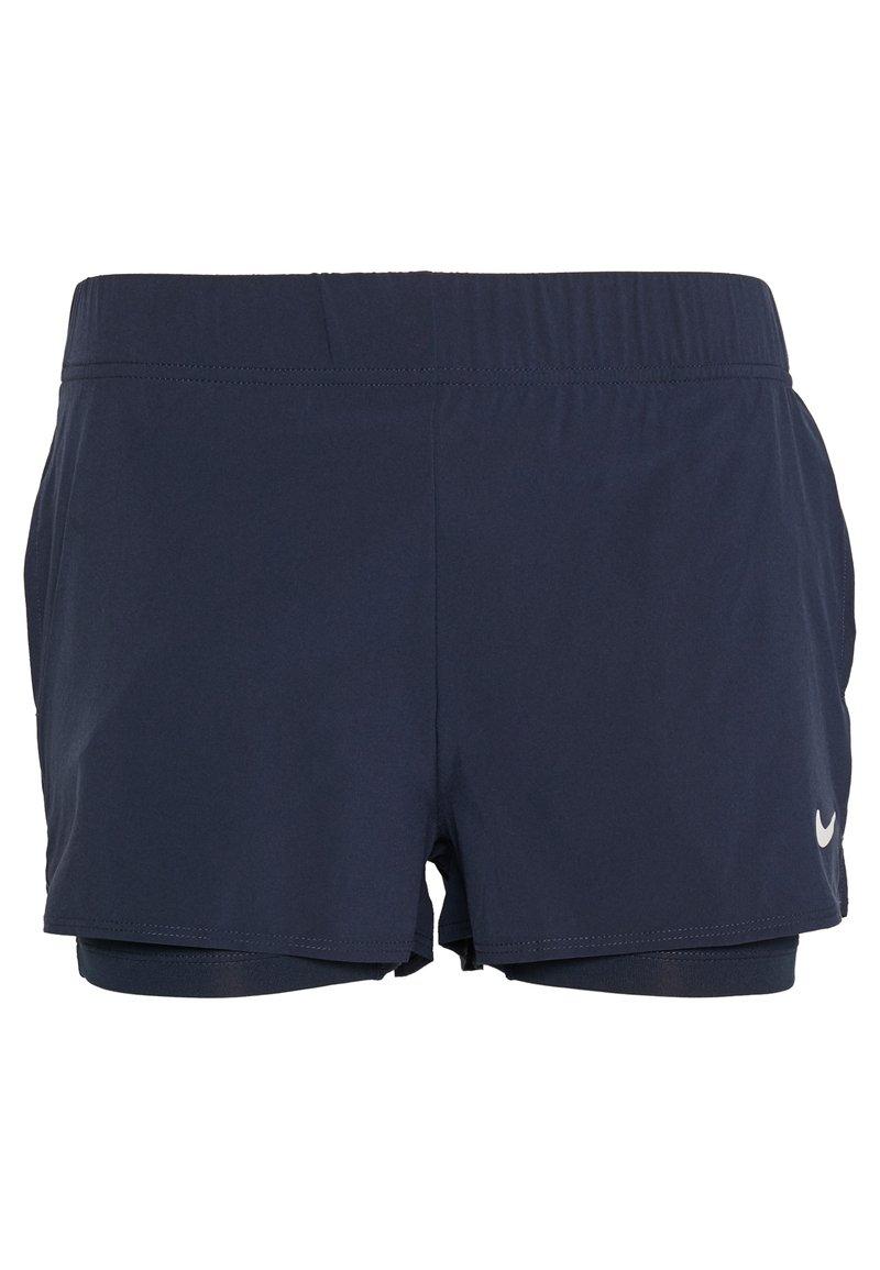 Nike Performance - FLEX SHORT - Sports shorts - obsidian/white
