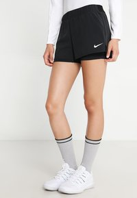 Nike Performance - FLEX SHORT - Urheilushortsit - black/white - 0
