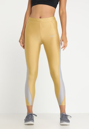 SPEED TIGHT 7/8 - Legging - club gold/atmosphere grey
