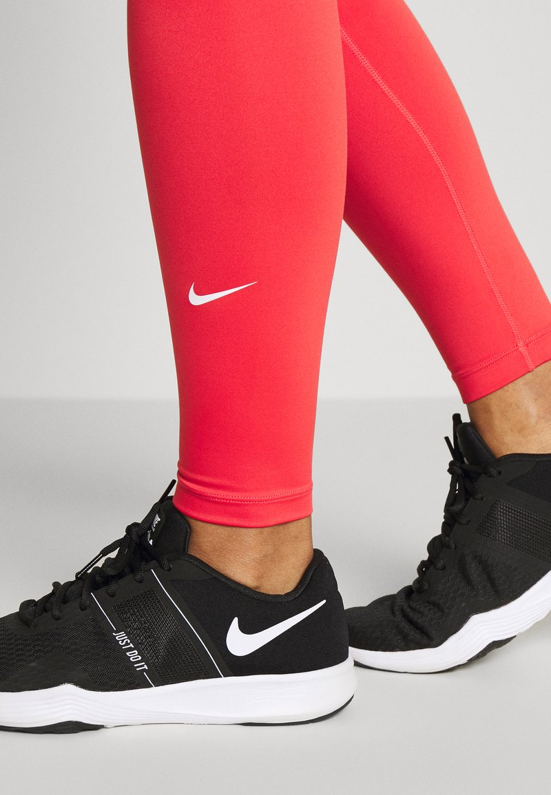 Nike Performance ONE - Tights - track red/white