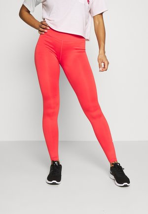 ONE - Leggings - track red/white