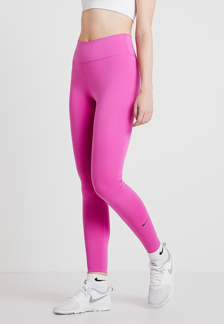 Nike Performance - ONE - Collants - active fuchsia/black
