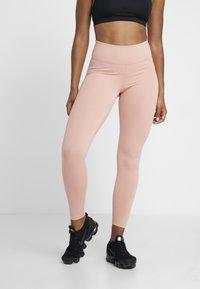 Nike Performance - ONE - Punčochy - pink quartz/black - 0