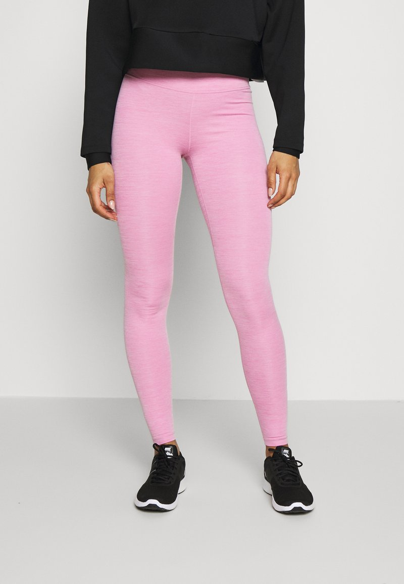 Nike Performance - ONE - Leggings - magic flamingo/white