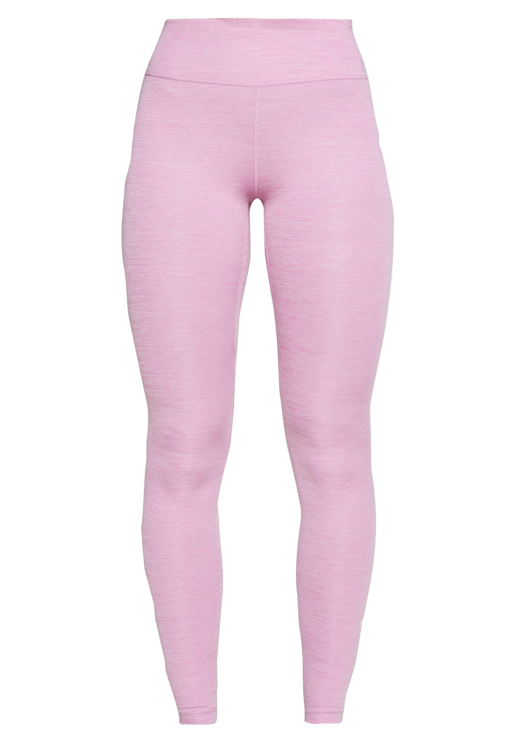 Nike Performance ONE - Legginsy - magic flamingo/white