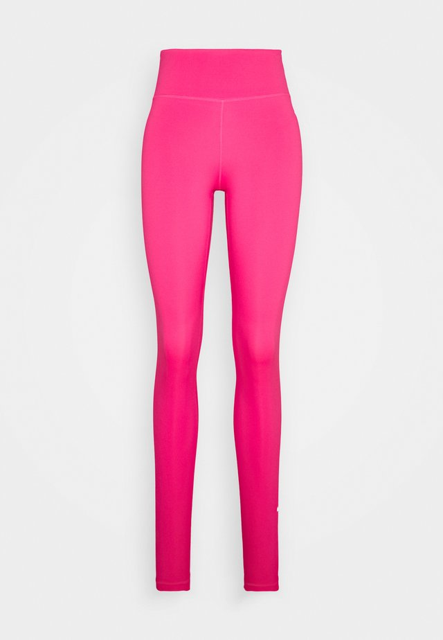 ONE - Tights - hyper pink/white