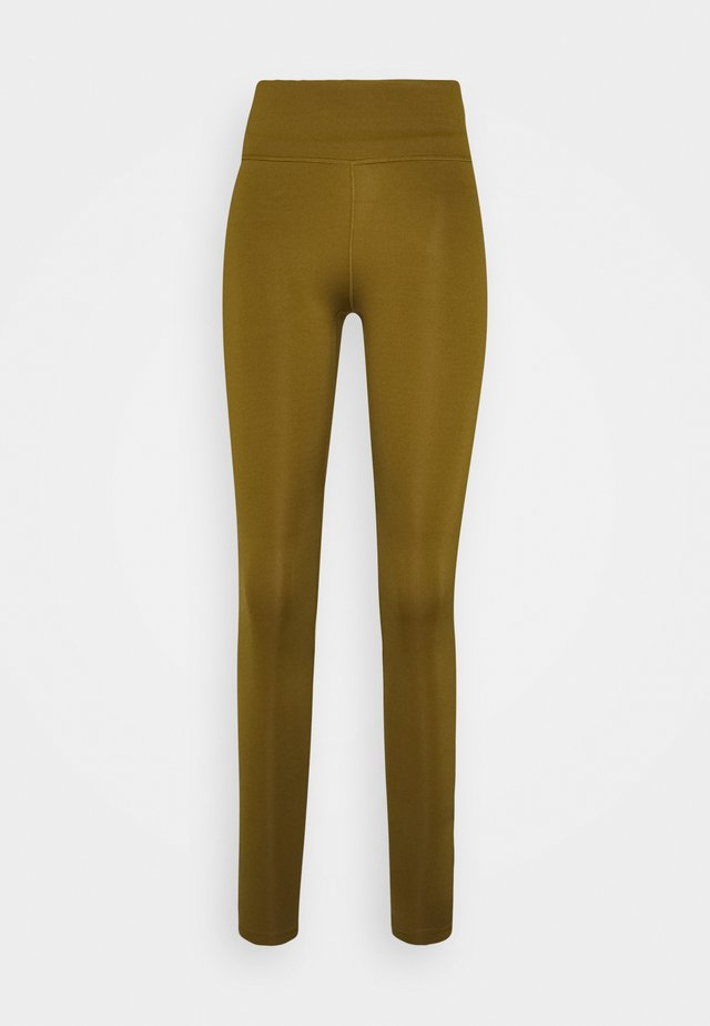 ONE - Leggings - olive flak/black