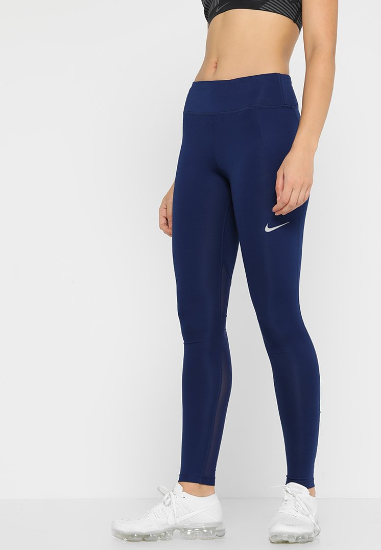 Nike Performance - FAST - Tights - blue void/reflective silv