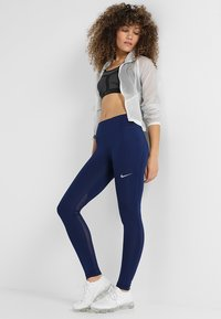 Nike Performance - FAST - Tights - blue void/reflective silv - 1
