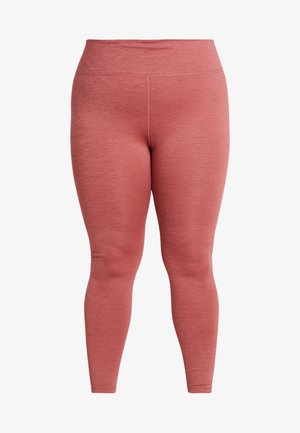 ONE PLUS - Leggings - cedar/light redwood/black