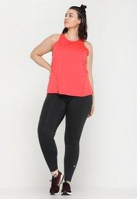 Nike Performance - ONE PLUS - Collant - black/white - 1