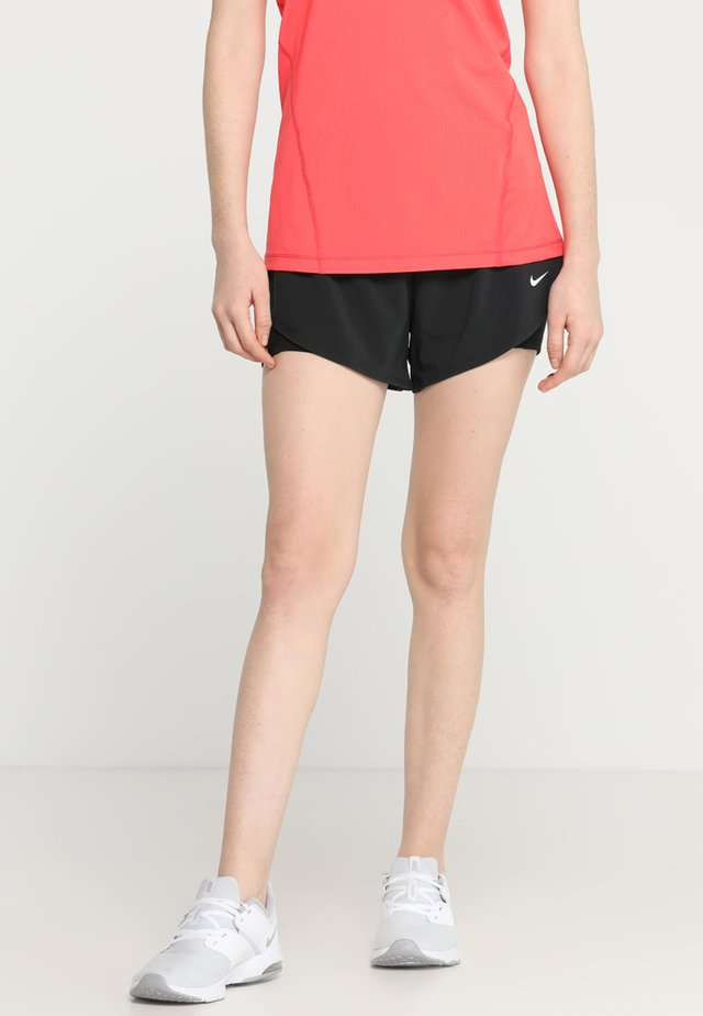 SHORT 2-IN-1 - Pantalón corto de deporte - black/white