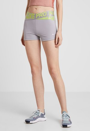 INTERTWIST SHORT - Tights - atmosphere grey/cyber