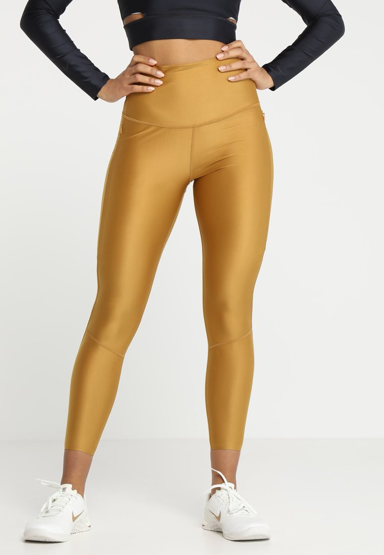 Nike Performance - TECH PACK TRAINING - Tights - wheat