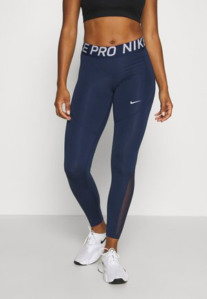 Leggings - midnight navy/midnight navy/white