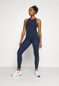 Nike Performance - Leggings - midnight navy/midnight navy/white - 1