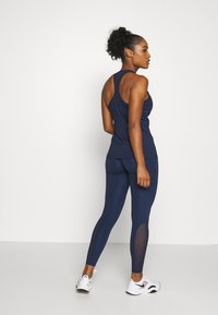 Nike Performance - Leggings - midnight navy/midnight navy/white