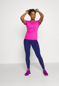 Nike Performance - Leggings - deep royal blue/noble red - 1