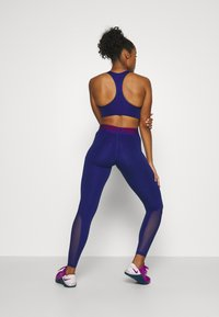 Nike Performance - Leggings - deep royal blue/noble red - 2