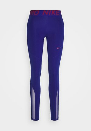 Legging - deep royal blue/noble red