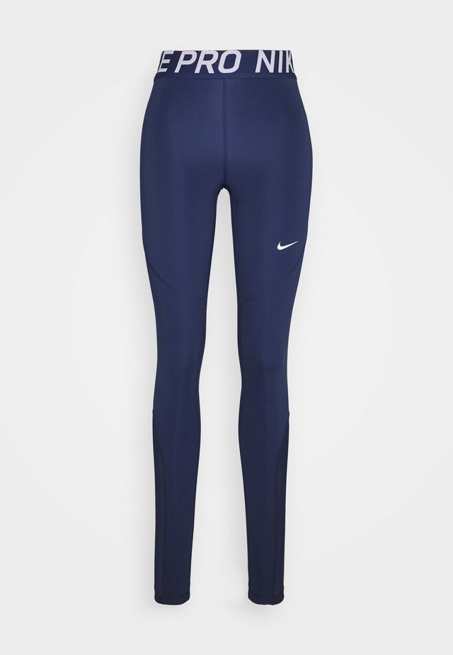 Legging - binary blue/binary blue/white