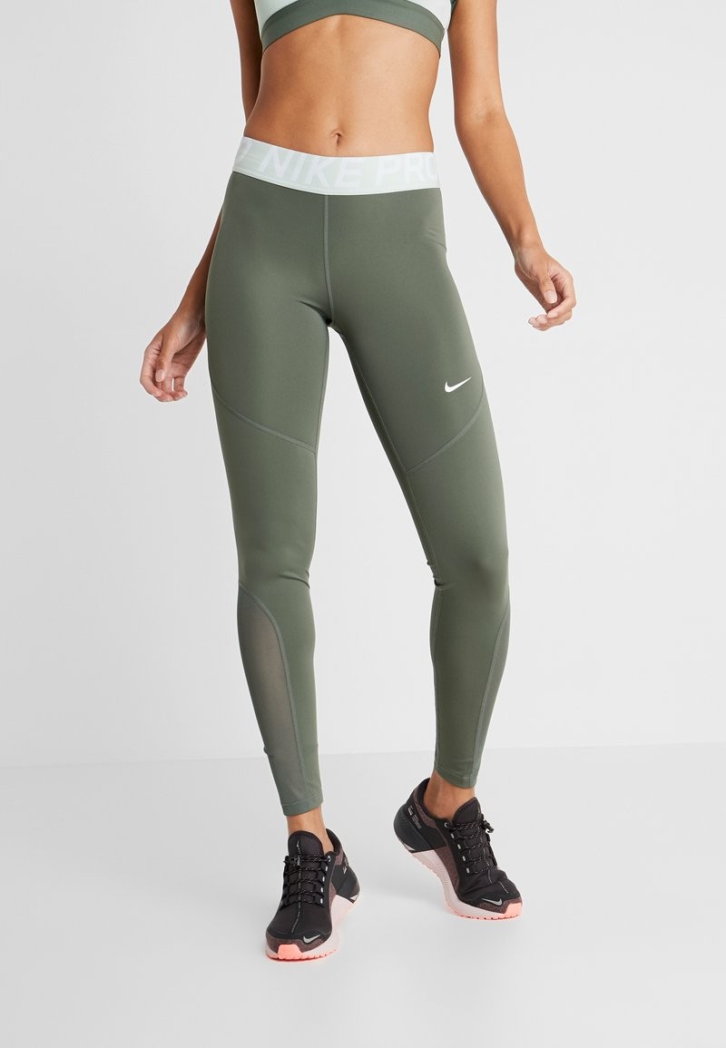 Nike Performance - NEW - Tights - juniper fog/white