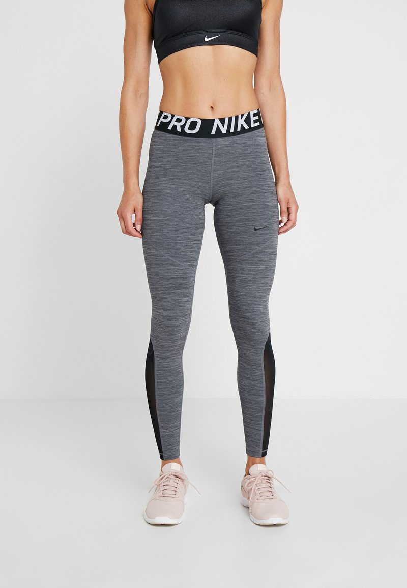 Nike Performance - NEW - Tights - black/heather