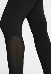 Nike Performance - W NP TIGHT - Leggings - black/turquoise/white - 5