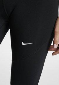 Nike Performance - W NP TIGHT - Leggings - black/turquoise/white - 4