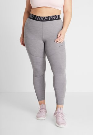 PLUS - Leggings - gunsmoke/heather/black