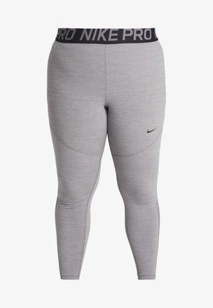 PLUS - Legging - gunsmoke/heather/black