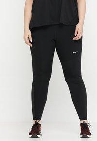 Nike Performance - PLUS - Legging - black/white - 0