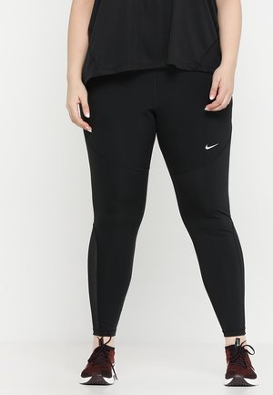PLUS - Tights - black/white