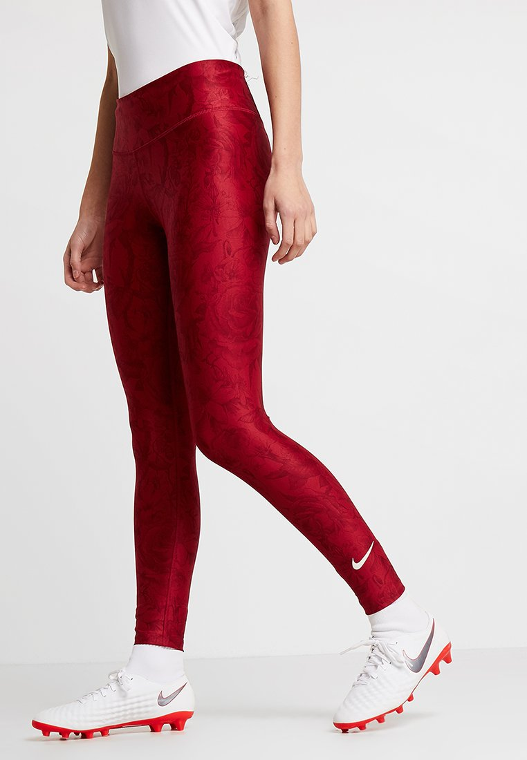 Nike Performance - ENGLAND - Tights - red crush/phantom