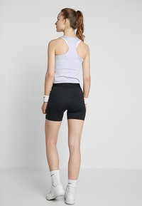 Nike Performance - SHORT  - Legginsy - black/white - 2