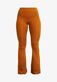 Nike Performance - STUDIO FLARE - Trainingsbroek - burnt sienna/black - 3
