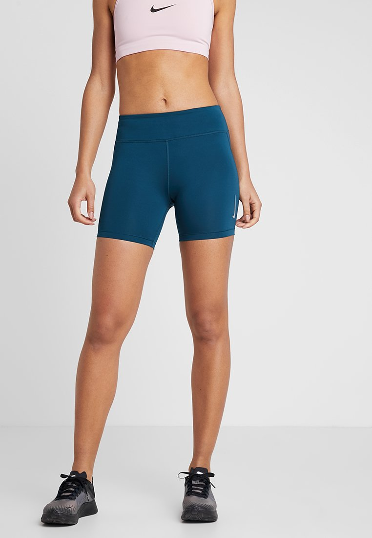 Nike Performance - FAST SHORT - Tights - nightshade/reflective silver