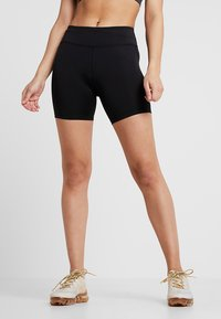 Nike Performance - FAST SHORT - Tights - black/reflective silver - 0