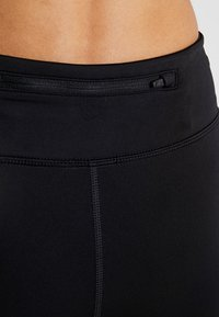 Nike Performance - FAST SHORT - Tights - black/reflective silver - 3
