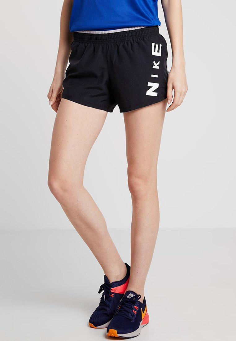 Nike Performance - SHORT SURF - Sports shorts - black/white