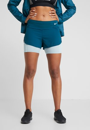 ECLIPSE SHORT - Träningsshorts - midnight turqouise/ocean cube/silver
